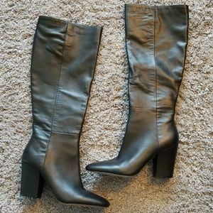 NWT Kenneth Cole Black leather boots